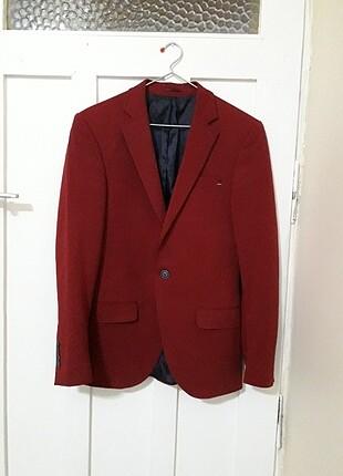 Bordo erkek ceketi
