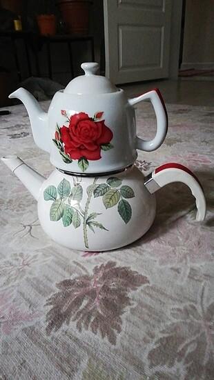 #Çaydanlık #kettle #demlik #porselen