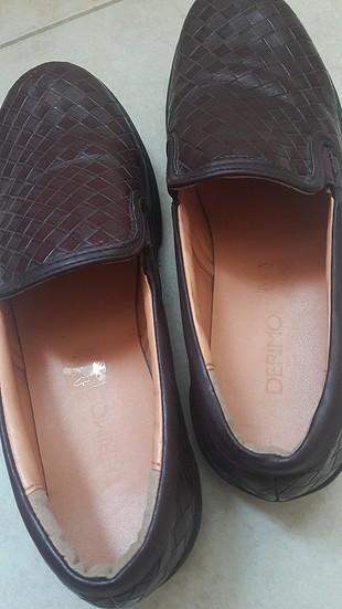 Derimod bordo ayakkabı