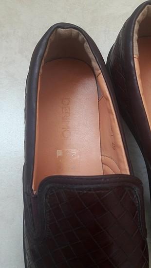 39 Beden bordo ayakkabı
