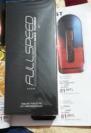 avon full speed max turbo edt 75 ml