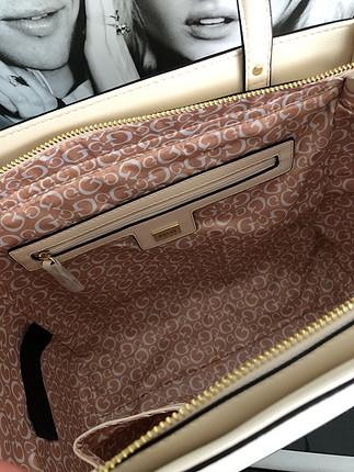 diğer Beden bej Renk Orjinal GUESS sıfır çanta (Fırsat ürünü)