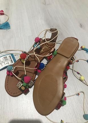 38 Beden çeşitli Renk Sandalet