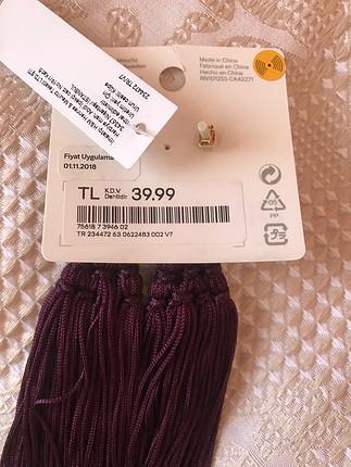 H&M Püsküllü Küpe