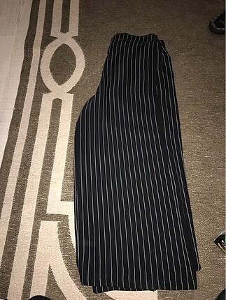 Bol paça kumaş pantolon