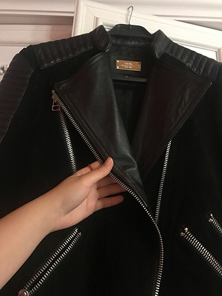 s Beden siyah Renk Siyah deri ceket
