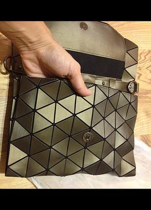 YENİ/geometrik 3boyutlu/özel malzeme askılı çanta