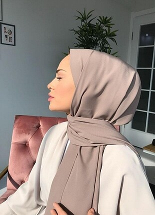 Valorscarf marka Medine ipeği şal - vizon rengi