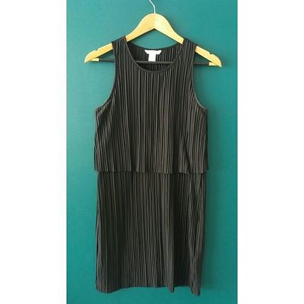 H&M siyah elbise
