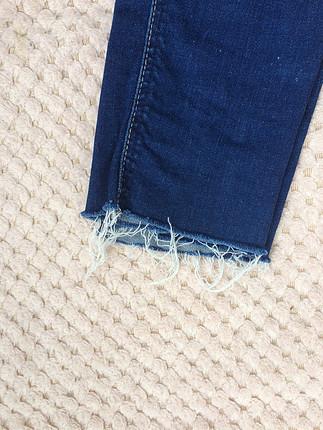 38 Beden lacivert Renk Zara kot pantolon