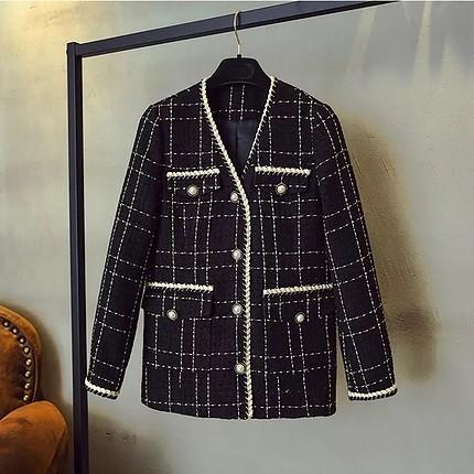 İthal tüvit ceket
