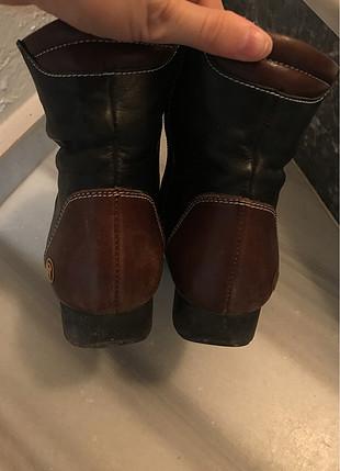 37 Beden Kahverengi kısa çizme