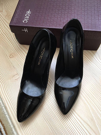 38 Beden siyah Renk Hotiç stiletto
