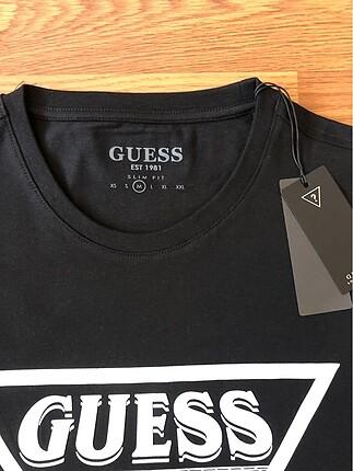 m Beden Guess tshirt sıfır paketinde