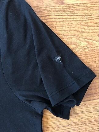 m Beden siyah Renk Guess tshirt sıfır paketinde