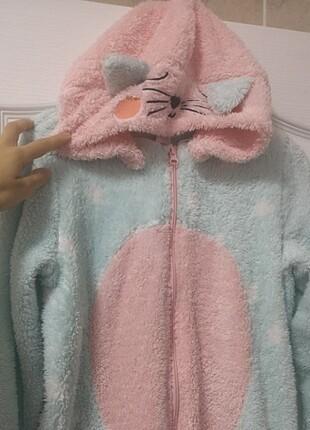 Peluş pijama