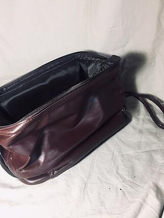 Makyaj çantası (cüzdan olarakta kullandım )