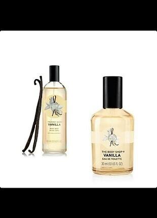 The Body Shop Vanilla Parfüm ve Vücut Spreyi