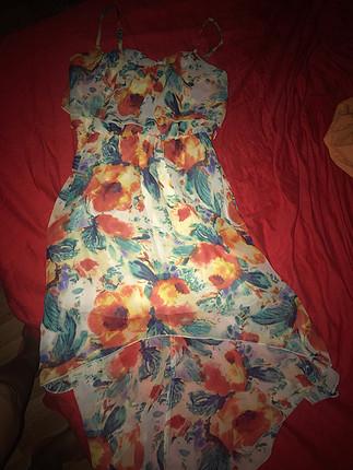 Diğer Şifon kokteyl elbise