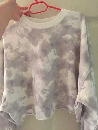 Batik desenli sweatshirt