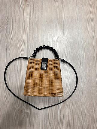 Zara Zara model hasır çanta