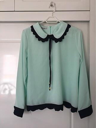 Mint yeşili Bluz 40 beden 0 ürün