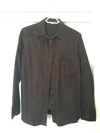 LCW 0 pamuk siyah 44 beden gömlek