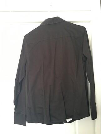 44 Beden LCW 0 pamuk siyah 44 beden gömlek