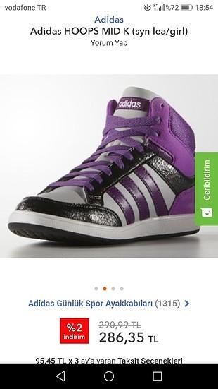 Adidas Adidas Hoops spor ayakkabı