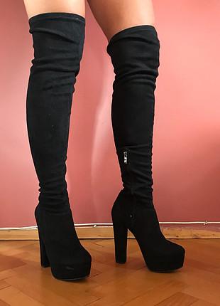 Pelinin Ayakkabıları Uzun Topuklu Çizme