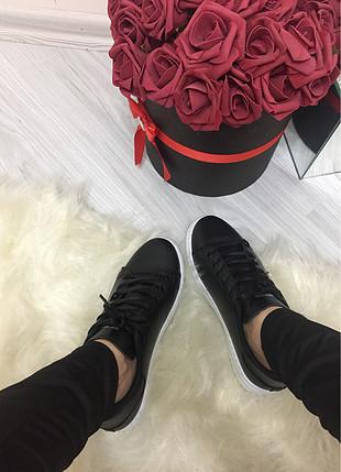 37 Beden siyah Renk Spor ayakkabı