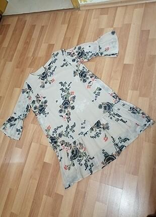 SENSETİON şifon elbise
