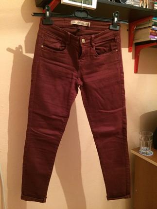 Zara bordo pantolon