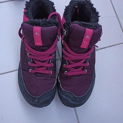 Decathlon marka 33 numara kar ayakkabısı