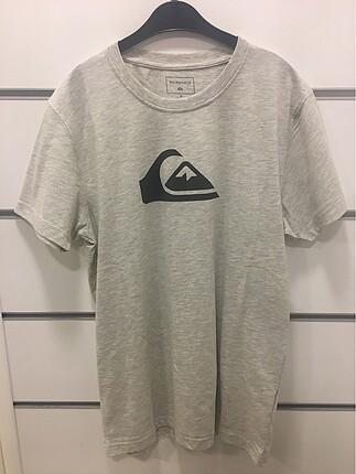 Quiksilver logo baskılı tshirt