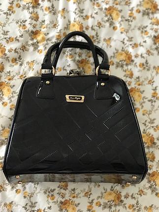 Rugan çanta (NEWSTELY) Az kullanılmış çok şık ve geniş kullanıml