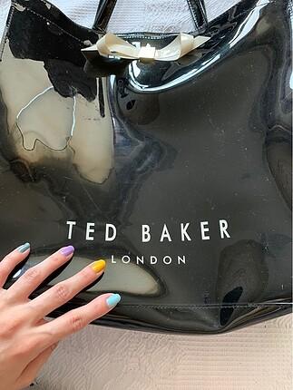Ted Baker ORJİNAL TED BAKER SİYAH BÜYÜK BOY ÇANTA