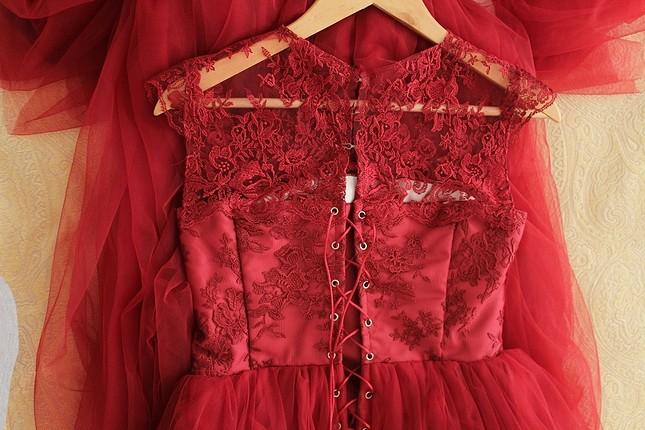 özel dikim kına nişan elbisesi