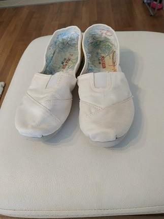 U.S Polo Assn. polo beyaz ayakkabi