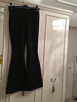 İspanyol paça tayt pantolon yüksek bel ????