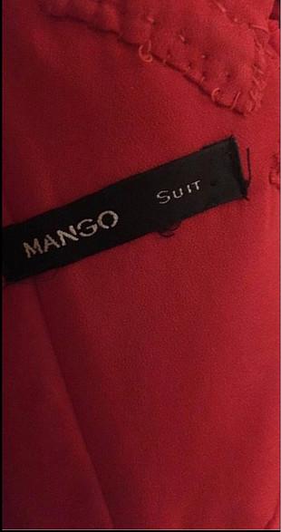 38 Beden Kırmızı mango abiye elbise