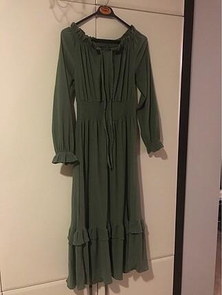 Uzun spor elbise