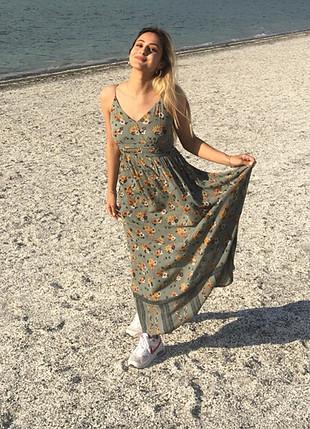 Koton uzun elbise