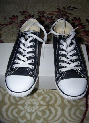 Orjinal Converse deri ayakkabı