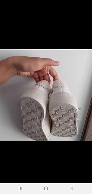 36 Beden beyaz ayakkabi