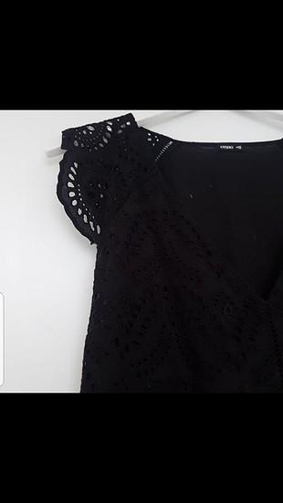 s Beden siyah Renk Kısa Elbise