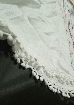 m Beden beyaz Renk yarım kollu gömlek