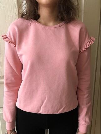 Koton pembe sweatshirt