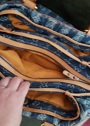 Beden mavi Renk Louis Votion çanta