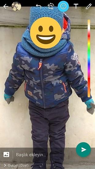 çocuk mont kaban